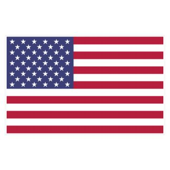 Sticker Flagge USA