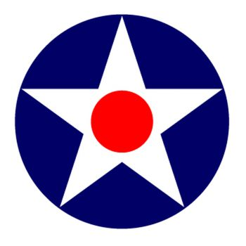 Sticker US Military Star