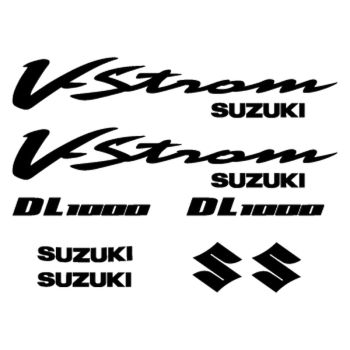 Kit Stickers Suzuki V-Strom DL 1000 Année 2002