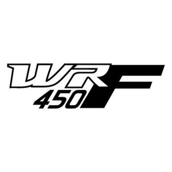 Sticker Yamaha WRF 450 logos Moto