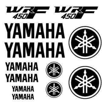 Kit Stickers Yamaha WRF 450