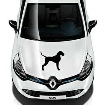 Sticker Renault Silhouette Chien