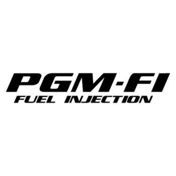 Sticker Honda MSX PGM-FI Fuel Injection