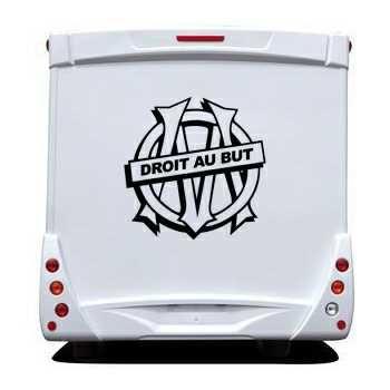 Sticker Camping Car OM Droit au But