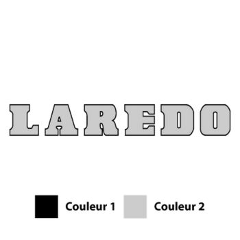 Sticker Jeep Laredo Logo