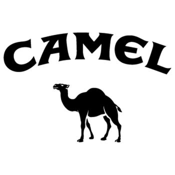 Sticker Camel Logo