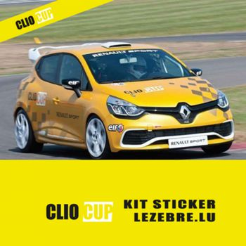 Kit Stickers Renault Clio Cup