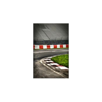 Sticker Déco Circuit F1