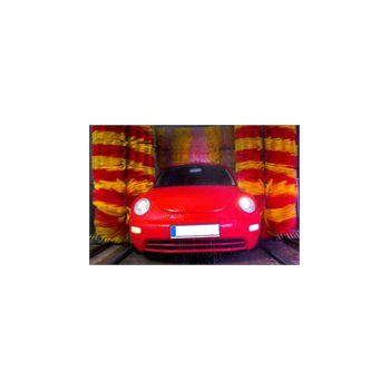 Sticker Déco VW Beetle au Car Wash