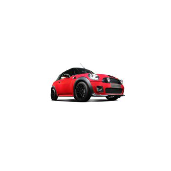 Sticker Déco Mini Cooper Rouge