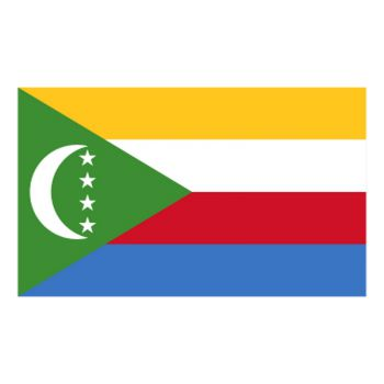 Comoros flag Decal