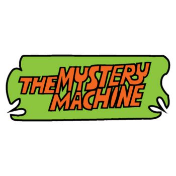 Scooby Doo The Mystery Machine logo Decal