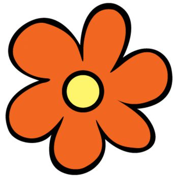 Scooby Doo The Mystery Machine Flower Decal