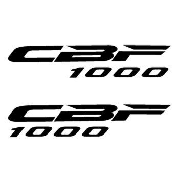 Set of 2 Honda CBF 1000 logo decals