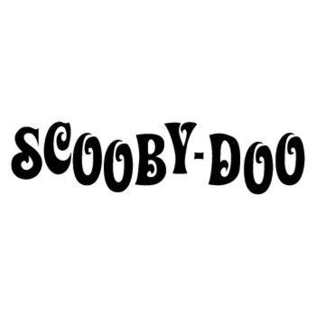 Sticker Scooby Doo Logo