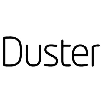 Dacia Duster logo Decal