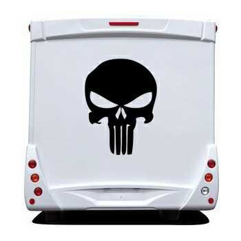 Punisher Camping Car Decal