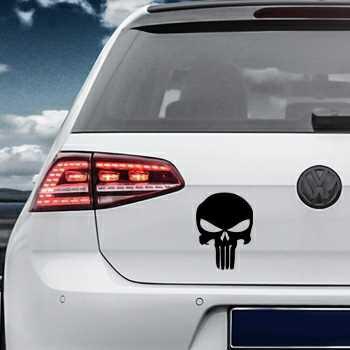 Punisher Volkswagen MK Golf Decal