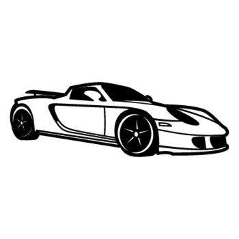 Sticker Porsche Boxster Silhouette
