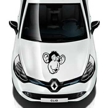 Sticker Renault Visage Singe