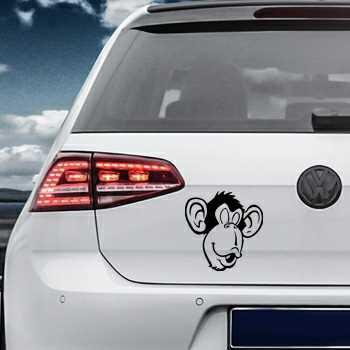 Monkey face Volkswagen MK Golf Decal