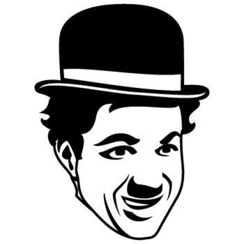 Charlie Chaplin Decal