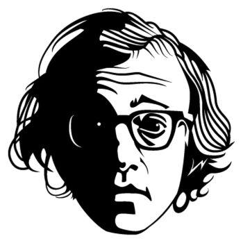 Woody Allen Decal