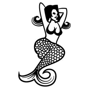 Sticker Sirène Relax