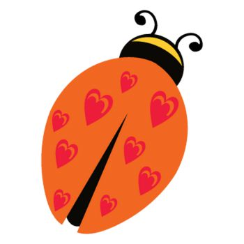 Ladybug in love Decal