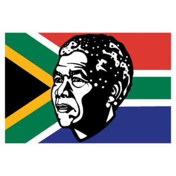 Nelson Mandela tribute Decal