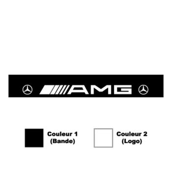 Mercedes AMG logo Sunstrip Sticker