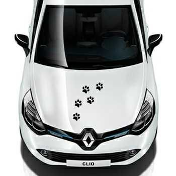 Cat paws Renault Decal