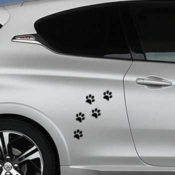 Cat paws Peugeot Decal