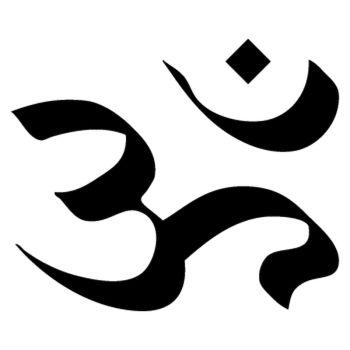 Sticker Aum Symbole
