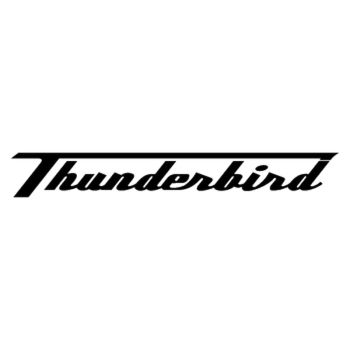 Triumph Thunderbird logo Decal