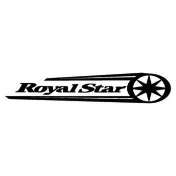 Sticker Yamaha Royalstar logo inversé