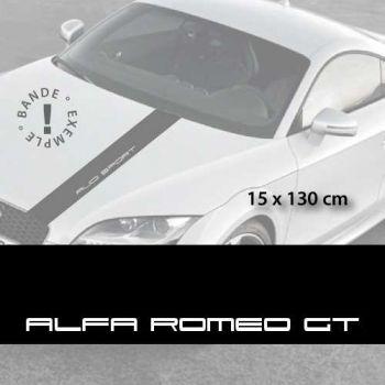 Stickers bandes autocollantes Capot Alfa Romeo GT