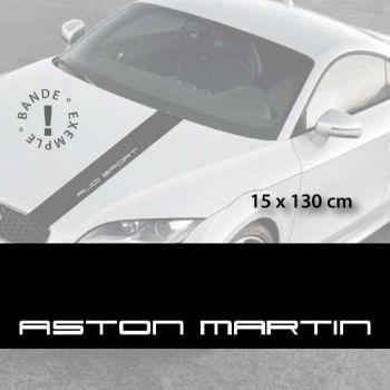Aston Martin car hood decal strip