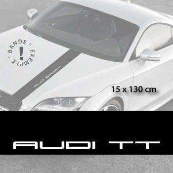 Audi TT car hood decal strip