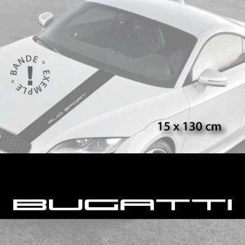 Stickers bandes autocollantes Capot Bugatti