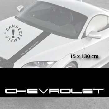 Stickers bandes autocollantes Capot Chevrolet