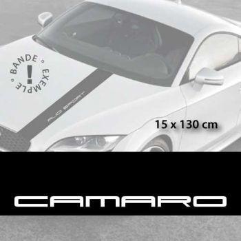 Stickers bandes autocollantes Capot Chevrolet Camaro