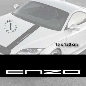 Ferrari Enzo car hood decal strip