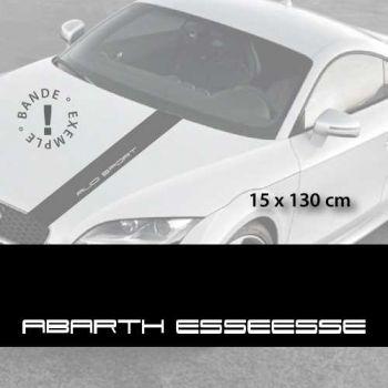 Fiat Abarth Esseessee car hood decal strip