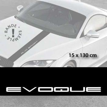 Stickers bandes autocollantes Capot Land Range Rover Evoque