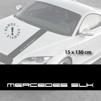 Bande Autocollante Capot Mercedes SLK
