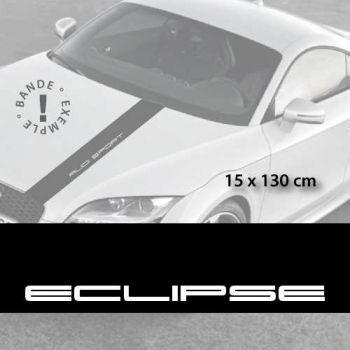 Mitsubishi Eclipse car hood decal strip