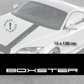 Stickers bandes autocollantes Capot Porsche Boxster