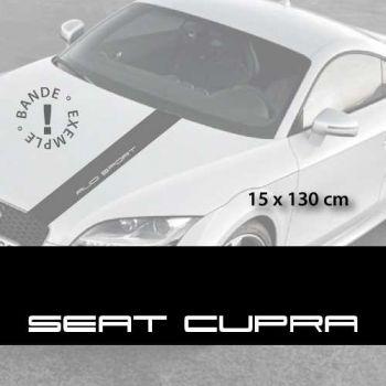 Sticker für die Motorhaube Seat Cupra