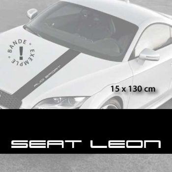Sticker für die Motorhaube Seat Leon